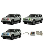 LED Headlight Halo Ring Multi-Color IR Kit for Jeep Patriot 07-16 - $103.26