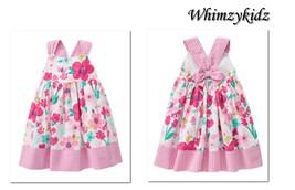 NWT Gymboree Outlet Girls Island Hopper Seersucker Butterfly Dress Size ... - $15.95