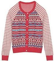 Blueberry Pet Women's Holiday Charm Fair Isle Style Cardigan Sweater Xtr... - $19.79