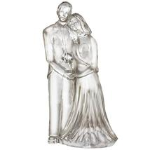 "WATERFORD LEAD CRYSTAL 7"" HT SCULPTED BRIDE & GROOM FIGURINE MADE IN IRE... - $244.75"