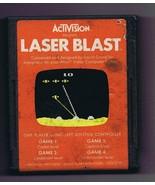 ORIGINAL Vintage TESTED 1981 Atari 2600 Activision Laser Blast Game Cart... - $13.99