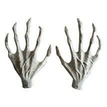 Halloween Skeleton Witch Hands Haunted House horror props Costume Decora... - $19.99