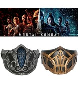 New Mortal Kombat movie Sub-Zero Scorpion Cosplay Action Figure Resin Co... - $38.18