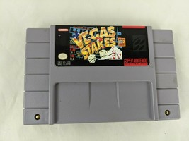 Super Nintendo Vegas Stakes Game Cartridge - $2.95