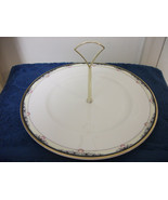 ROYAL DOULTON CHINA TIDBIT PLATTER PASTRY COOKIE HORDERVES PLATE DISH W/... - $19.99