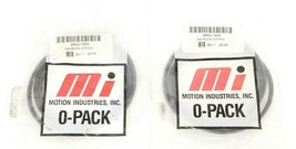 LOT OF 2 NEW MOTION INDUSTRIES 00621025 269 BUNA O-PACK