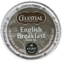 Celestial Seasonings English Breakfast Tea 48 count Keurig K cups FREE S... - $38.99