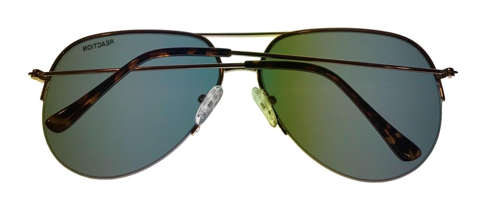 Kenneth Cole Reaction Mens Sunglass Gold Rimless Aviator, KC1307 32N image 5