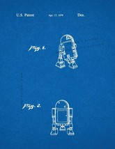 Star Wars R2-D2 Patent Print - Blueprint - $7.95+