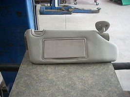2011 CHEVROLET HHR RIGHT PASSENGER SIDE GRAY SUN VISOR