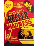Reefer Madness Drug Crazed Abandon 24x36 Poster! - $11.14