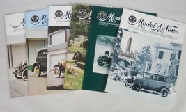 Ford Model A Restorers Club Magazine 1971 Lot of 6 Issues - $11.65
