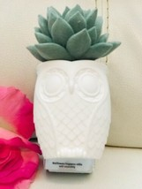 BATH BODY WORKS OWL POTTED SUCCULENT FLOWER WALLFLOWER FRAGRANCE PLUG IN... - $17.77