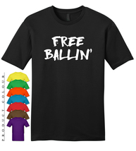 Free Ballin Mens Gildan T-Shirt New - ₹1,402.16 INR
