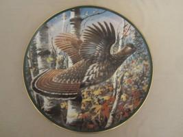 RUFFED GROUSE Collector Plate JIM KILLEN Game Birds RARE Wildlife - $43.54