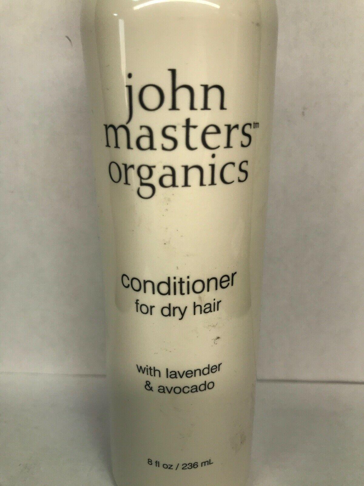 John Masters Organics Conditioner For Dry Hair 8 Ounce w/ Lavendar & Avocado image 2