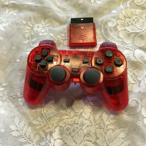 Wireless Shock Game Controller for the Ps2 - Ruby Red - $15.99