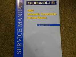 2002 Subaru Automatic Transmission Service Repair Shop Manual FACTORY FEO BOOK - $44.49