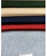 "Zweigart Klostern Fabric 7 Count Fat Quarter 18"" x 27"" Cross Stitch Larg... - $13.50"