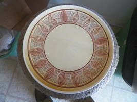 Taylor smith and Taylor round platter (Honey gold) 1 available - $3.95