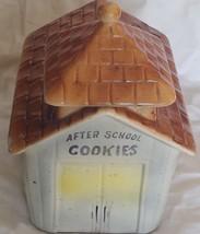 vintage after school cookie jar ceramic treat - $31.82