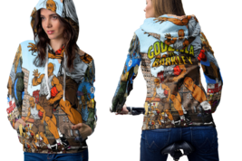 Godzilla Vs Charles Barkley Women's Hoodie Zipper - $52.99