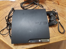 Sony PlayStation 3 Console PS3 120 GB CECH-2021A With Power cord And Con... - $79.99