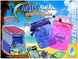 """Waterproof Case For Cell Phone, E Readers,Jewelry,  Large 7"""" X 9""""  Model - $6.92"""