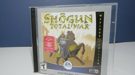 Shogun Total War Warlord Edition CD (PC Game, 2001) with serial number - $9.99