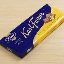 Karl Fazer Milk Chocolate Bar with Whole Hazelnuts (7 ounce) - $7.99