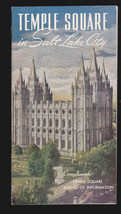 Temple Square in Salt Lake City (Utah) Mormons Vintage booklet-  - $6.06