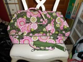 Vera Bradley Olivia Pink Frame Travel Bag - $88.00