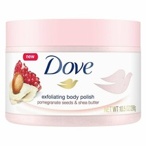 Dove Exfoliating Body Polish Pomegranate Seed / Shea Butter 10.5  (2 Pack) - $16.82