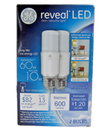 GE 10W Reveal LED Stick Light #1461540. 600 Lumens. 2 Count Box Replaces... - $8.41