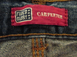 Simple boys denim carpenter shorts Size 16 by Faded Glory  MMARS473 - $10.92