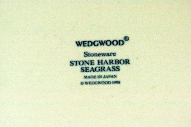 Wedgwood 1998 Stone Harbor Seagrass Dinner Plate image 3