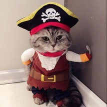 Cat Costume Clothing Pirate Halloween Dress Up Kitten Cute Kitty Suit - $9.04+