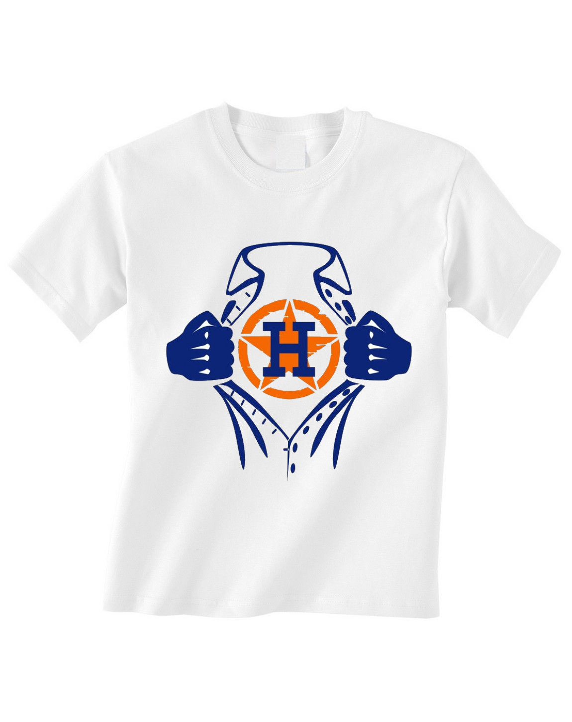 Primary image for Houston Astros Toddler Tshirt Shirt Ripped Shirt Logo
