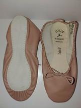 Capezio Adult Teknik 200 PNK Pink Full Sole Ballet Shoe Size 7B 7 B - $25.09