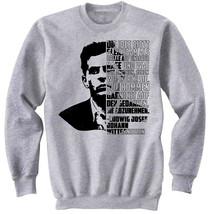 Ludwig Josef Johann Wittgenstein Die Idee - NEW COTTON GREY SWEATSHIRT - $31.88