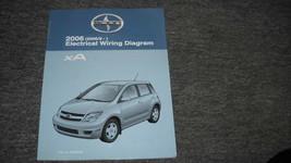2006 Scion Xa Elettrico Cablaggio Diagramma IN Manuale Ewd Evtm OEM - $10.89