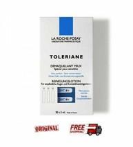 La Roche Posay Toleriane Demaquillant Yeux Eye Makeup Remover 30 X 5ml - Pocket - $29.67