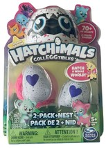 Hatchimals CollEGGtibles Season 1 2-Pack + Nest NEW Hatch A Whole World! - $12.86
