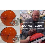 Jim Brown Cleveland Browns signed autographed full size Helmet, exact pr... - $549.99