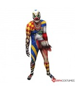 MORPHSUIT SCARY CLOWN MONSTER ADULT BODY SUIT HALLOWEEN DELUXE COSTUME 7... - $59.99