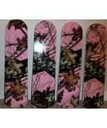 CUSTOM ~ PINK CAMO CAMOUFLAGE CEILING FAN ~ OAK LEAVES TREES REALISTIC ~... - $99.99