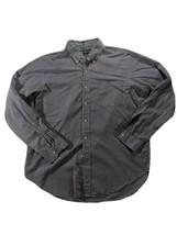 Ralph Lauren Classic Fit Men's Large Button Down Dress Shirt Purple Chec... - $20.15