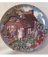 Edwin Knowels  1988 Collector Plate Three Little Pigs 1988 - £12.14 GBP