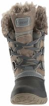 NEW WOMENS GREY KHOMBU SLOPE THERMOLITE ALL WEATHER TERRAIN WINTER SNOW BOOTS image 3