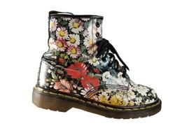Doc Dr Martens US 8 UK 6 1460 Floral Leather Vintage Combat Boots England - £212.49 GBP